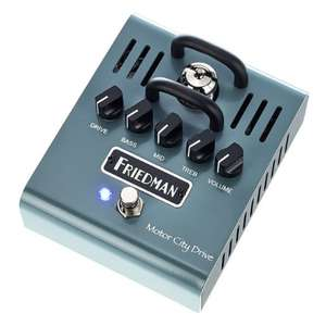 Friedman Motor City Drive Tube Overdrive Guitar Effects Pedal - Approximately £115 Delivered @ Thomann