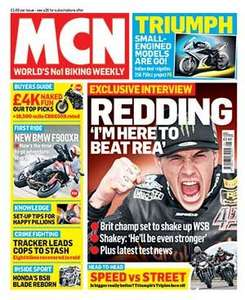 Motorcycle News 12 month (52 issues) + FREE Oxford Advanced Heated Grips (worth 79.99) £79.92 @ Great magazines
