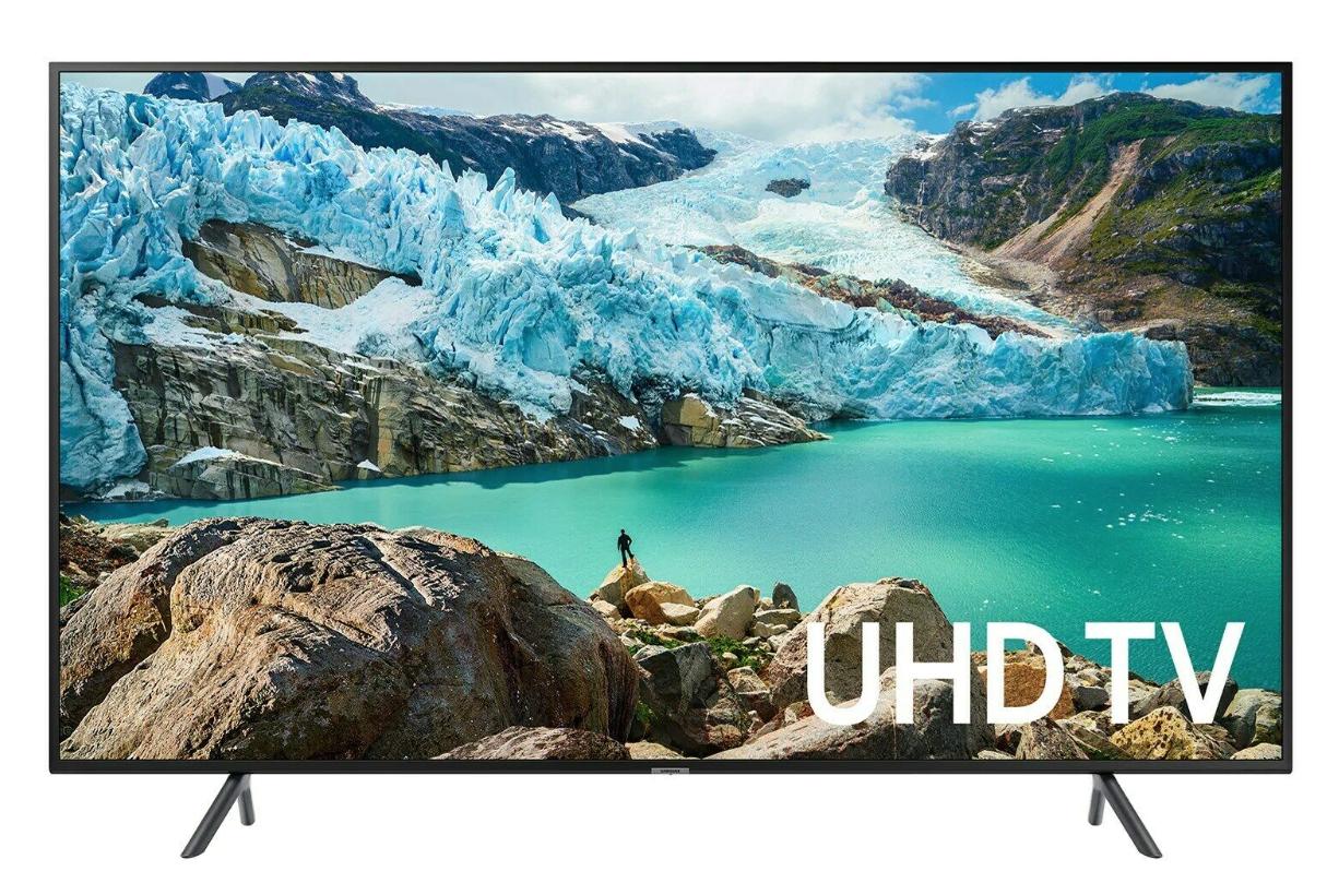Samsung RU7100 (43 inch) HDR 4K UHD Smart LED Television (Black) £292.69 at cclcomputers eBay