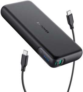 RAVPower Portable Charger 20000mAh PD 60W Power Bank £29.39 Sold by S.M UK-Tech and Fulfilled by Amazon