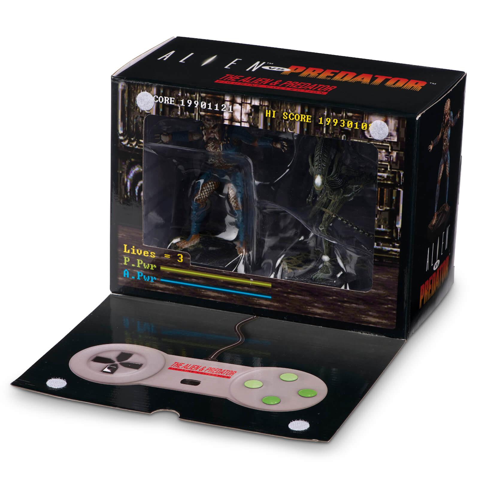 Pre-order Eaglemoss Alien v Predator Video Game Figurine 2-Pack Set (SNES Video Game Paint Variant) for £21.98 delivered @ Zavvi