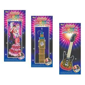 Strictly Bundle – Guitar, Big Ben and Dancers £14.99 @ sequinart.com (free delivery)