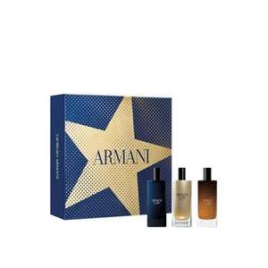 Giorgio Armani miniature gift set for him £26.24 with code at the fragrance shop + £1.99 click and collect