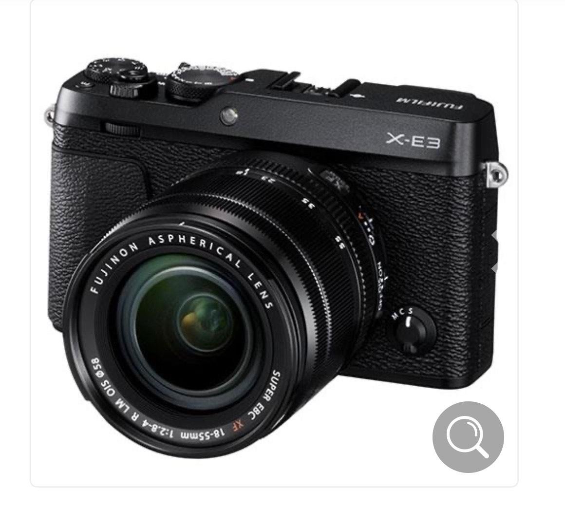 Fujifilm X-E3 with 18-55mm f2.8 lens - £548.97 @ Jessops