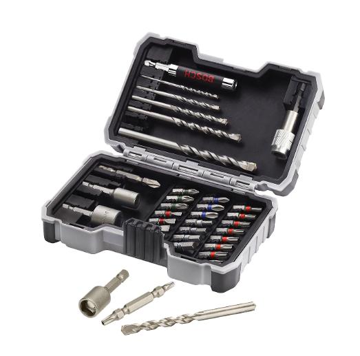 Bosch 35 piece Mixed Drill bit set £15 at B&Q