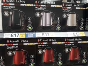 Russell Hobbs Waverley Kettle £17 at Tesco Baguley