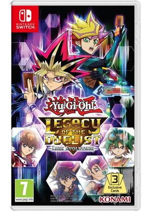 Yu-Gi-Oh! Legacy of the Duelist Link Evolution (Nintendo Switch) for £21.85 Back Order @ Base