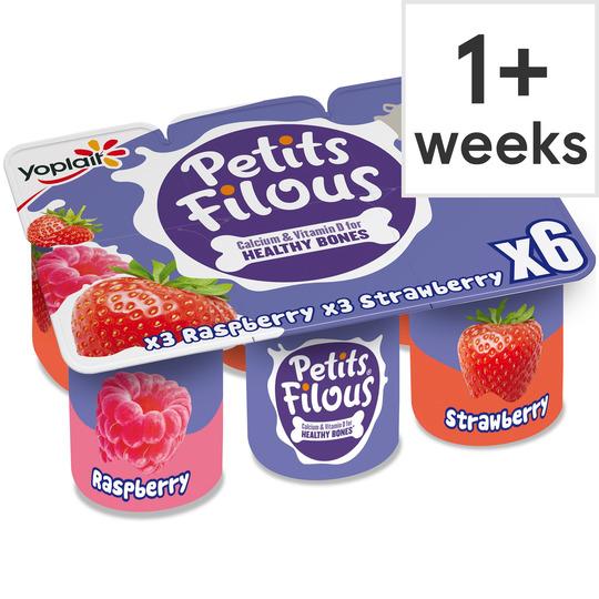 Petit Filous 6 x 47g Various Flavours 75p @ Tesco
