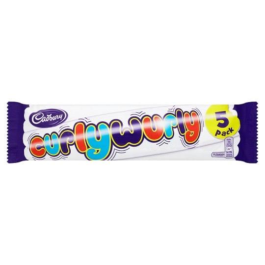 Curly Wurly 5 Pack £1 @ Tesco