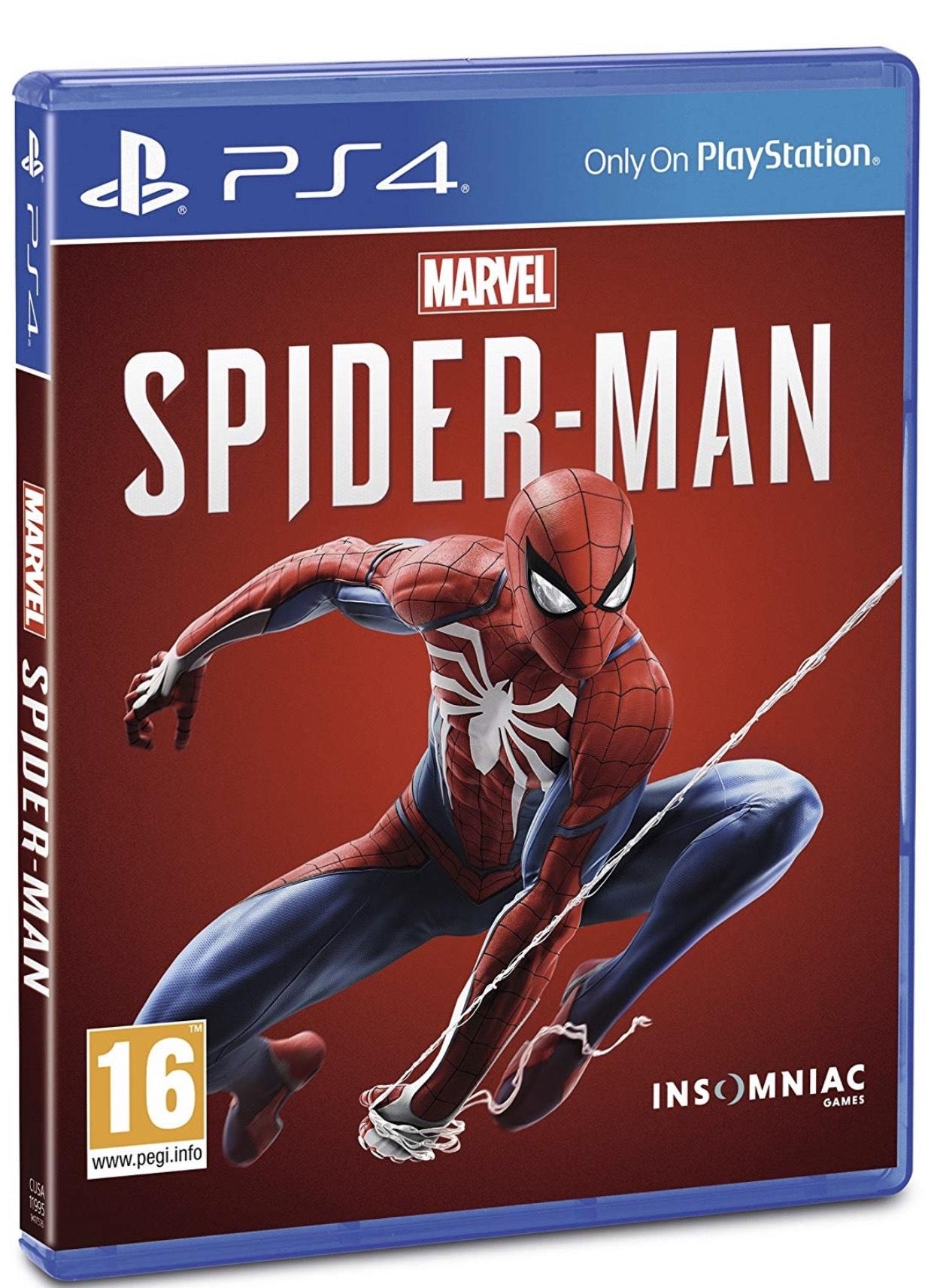 Spider-Man (PS4) £13.99, God of war (PS4) £11.99 (Ex-rental) @ boomerang rentals via eBay