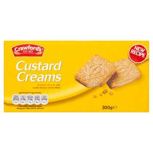Crawford's Custard Creams (and others) 5 for £2 @ Iceland