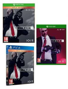 Hitman 2 Gold Edition (XBOX/PS4) for £23.99/Hitman 2 (Xbox One) for £12.99 Delivered @ Go2games