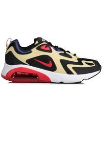 Nike Air Max 200 Trainers - Gold / Black - sizes 8, 9, 10 and 11 - £57.49 With Code @ Triads