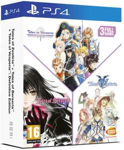 [PS4] Tales of Vesperia + Tales of Berseria + Tales of Zestiria Compilation - £34.95 delivered @ Coolshop