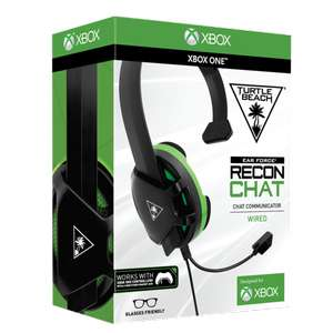 Turtle Beach Recon Chat Black Headset for Xbox One - £7.99 Delivered @ Simplygames