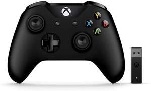 Microsoft PC Xbox Black Controller, with Wireless Adapter for Windows £45.04 @ Amazon