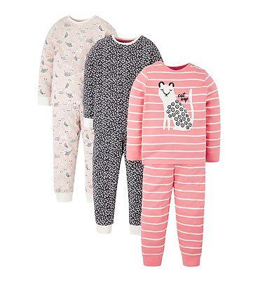 Mini Club 3 Pack Cheetah Pyjama £12 @ Boots