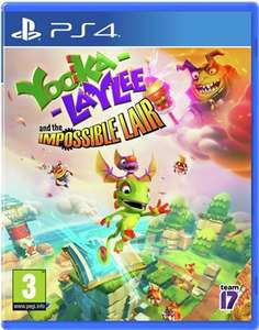 Yooka Laylee and the Impossible Lair PS4 / Xbox One - £12.99 / Nintendo Switch £19.99 @ Argos