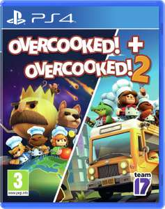 Overcooked 1 and 2 Double Pack (PS4) - £15.99 @ Argos