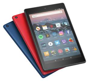 Amazon Fire HD 8 Alexa 8 Inch 16GB Tablet - Black / Blue / Red - £44.99 @ Argos
