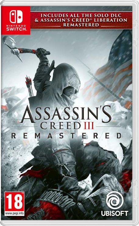 Assassins Creed 3 Remastered on Switch £11.09 uk eshop