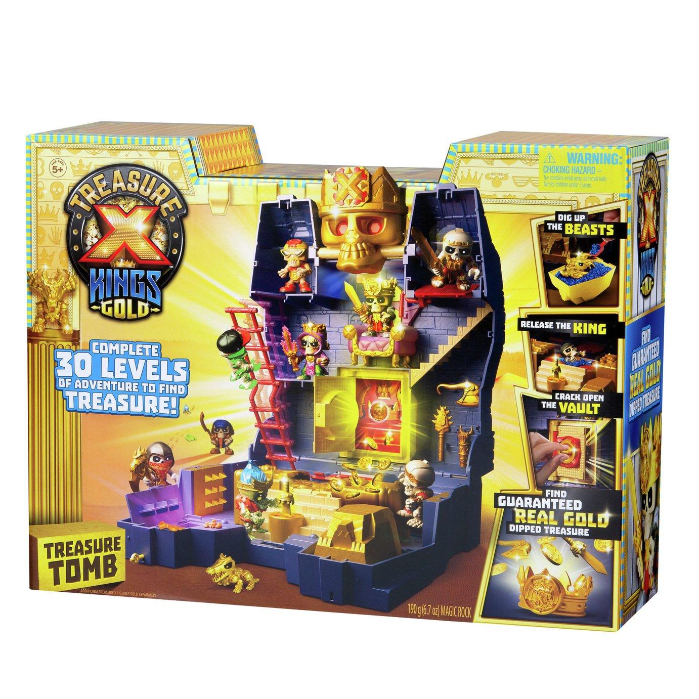 Treasure X Kings gold tomb set £10 Tesco.