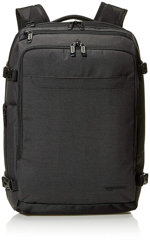 Amazon Basics slim carry on travel backpack - black £36.05 Amazon