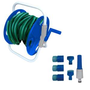 Compact Hose Reel - 25m for £10 @ Homebase (free click and collect)