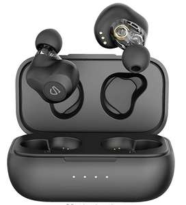 Dual Dynamic Drivers Wireless Earbuds, SoundPEATS Truengine SE Bluetooth 5.0 Earphones £34.29 Sold by TEKTEK-EU and Fulfilled by Amazon
