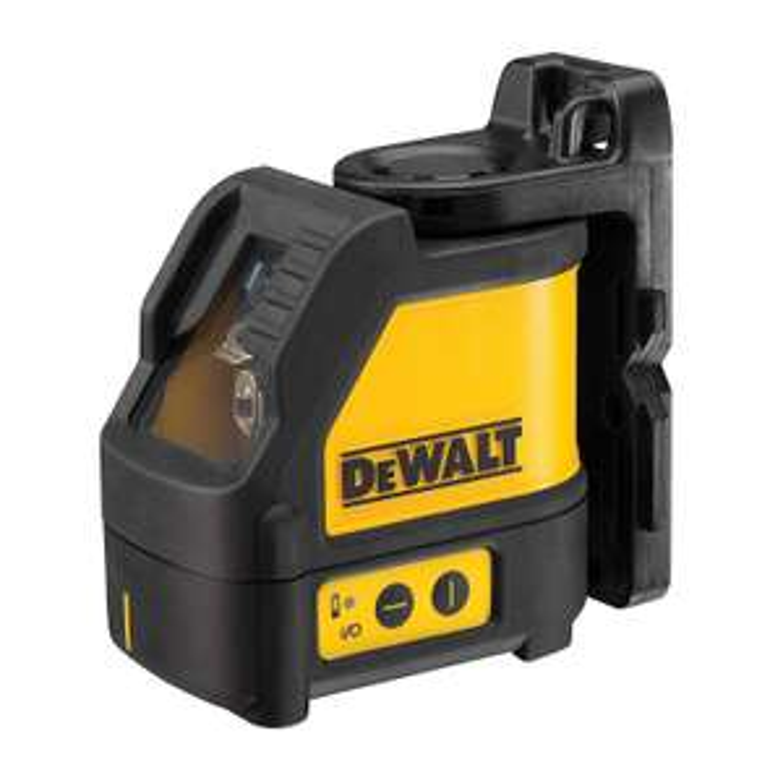 DeWalt DW088K-XJ Lazer Distomat, Sari/Siyah Cross line laser level £99 Amazon