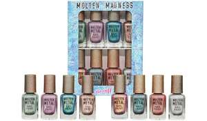 Barry M Cosmetics Molten Madness Nail Paint Set £15.49 with Free click & Collect From Argos