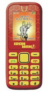 SIM Free Lexibook Avengers Iron Man 1.77 Inch 2G Dual Sim Mobile Phone for £13.99 delivered @ eBay / Argos