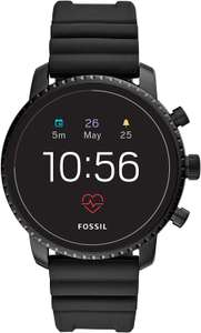 Fossil FTW4018 Men's Gen 4 Explorist HR Silicone Touchscreen Smartwatch £113 delivered at Amazon