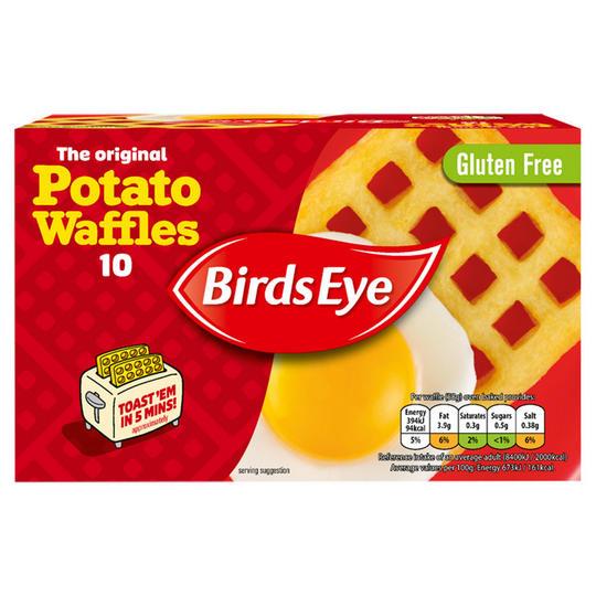 Birds Eye 10 The Original Potato Waffles 567g £1.00 @ Iceland