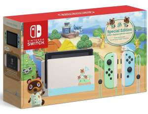 Nintendo Switch Animal Crossing Limited Edition Console + Tom Nook Keyring £319.85 @ ShopTo