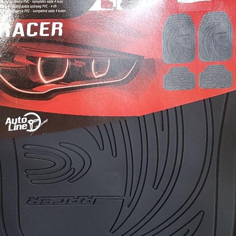 Set of four AutoLine racer Car mats (PVC) in Milton Keynes Tesco (Kingston)