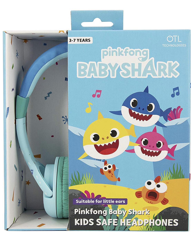 Baby shark blue Headphones for age 3-7 £4.99 Instore Smyths Gillingham