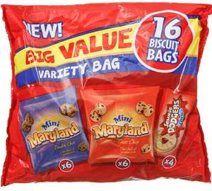 Maryland Mini Cookies Bag - 16 packs £1 Farmfood Mitcham