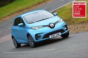 Renault Zoe Hatchback - EV - 80KW I Play R110 50KWh 5dr Auto - £5,891 24 months / 8K pa @ What Car? Leasing