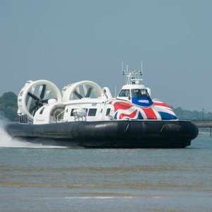 Family Day Return (off peak inc half term) to Isle of Wight by Hovercraft - 2 Adults & up to 3 Children £30 @ Hover Travel