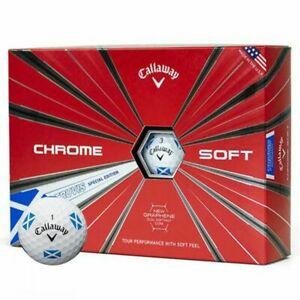Callaway Chrome Soft Truvis Saltire Golf Balls 1 Dozen £19.99/ 2 Dozen £18.99 Each / 3 Dozen £18.39 Each @ Afordablegolfclearance (Free P&P)