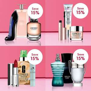 15% Off Fragrance & Premium Beauty Products @ Boots - including Huda, Morphe, Clinique, YSL and more