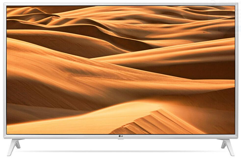 """LG 49UM7390PLC 49"""" UltraHD 4K Smart TV White - £317.34 with code @ Cramptonandmoore eBay"""
