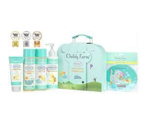 Childs Farm Baby Gifting Suitcase £16.99 (Prime) / £21.48 (non Prime) at Amazon
