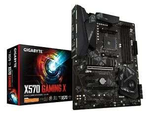 Gigabyte X570 GAMING X ATX AMD AM4 Motherboard for £122.84 with code @ CCL eBay