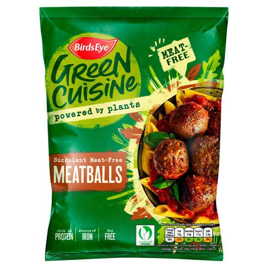 Birds Eye Green Cuisine Meat-Free Meatballs 280g - 50p @ Iceland
