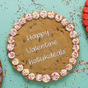 Morrison's Giant Personalised Cookie instore - only £5.00 - great for Valentine's Day or Birthday etc @ Morrisons (Northampton)