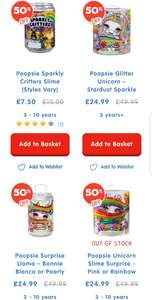 Poopsie Glitter Unicorn & Surprise - £24.99 @ The Toy shop (The Entertainer) - Free Collection