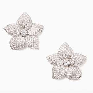 Kate Spade blooming pave bloom statement studs £34 @ Kate Spade store