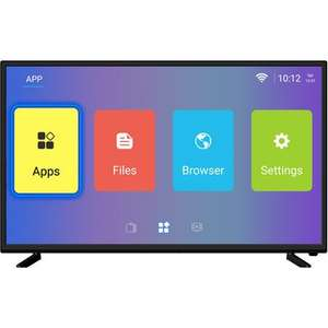 """ElectriQ 43"""" 4K Ultra HD Android Smart HDR LED TV with Freeview HD £199.97 delivered @ Laptops Direct"""